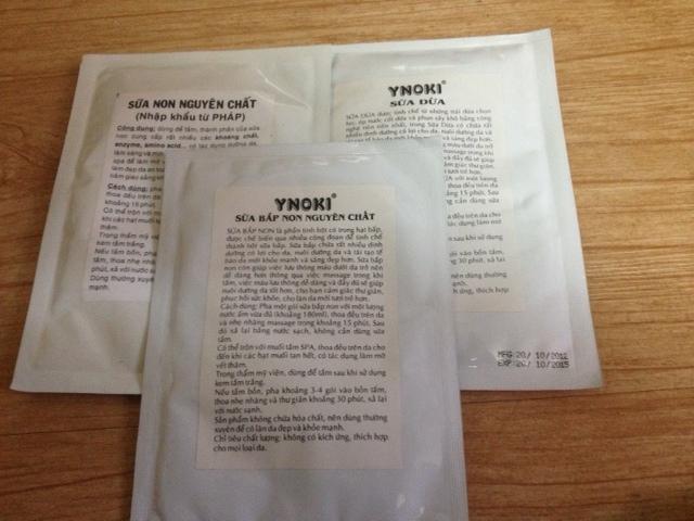Bột sữa bắp non nguyên chất dưỡng trắng Ynoki