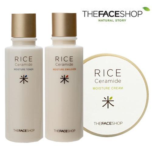Nước hoa hồng gạo Rice & Ceramide Moisture Toner