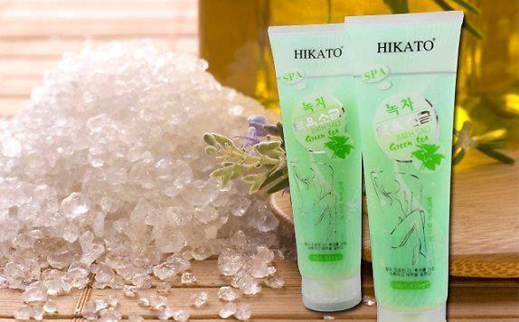 muối tắm trắng Hikato