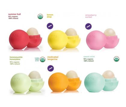 Son dưỡng môi quả trứng – EOS Lip Balm