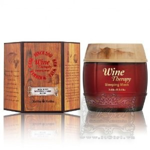 Holika Holika Wine Therapy Sleeping Mask Pack Red wine main-746x1000