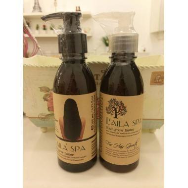 Bộ dầu gội xả thảo dược kích mọc tóc LaiLa Spa
