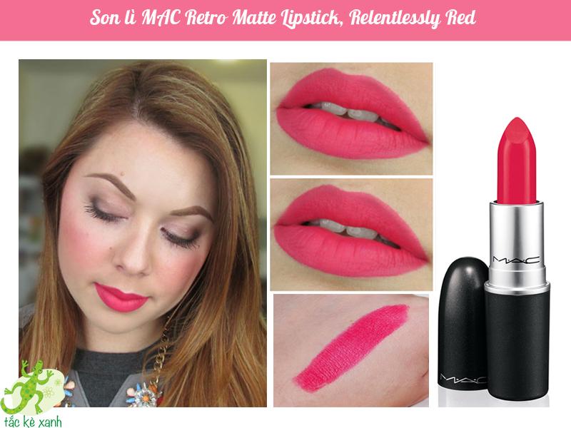 Son môi M.A.C Matte Lipstick