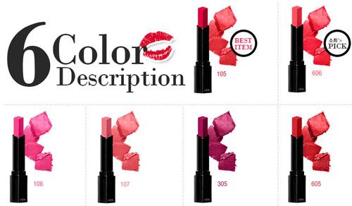 Son VDL Expert Color Lip Cube Moisture SPF10