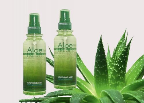 Xịt khoáng lô hội Aloe Fresh Soothing Mist 2