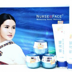 bộ kem trị nám nurse face xanh 5in1 3