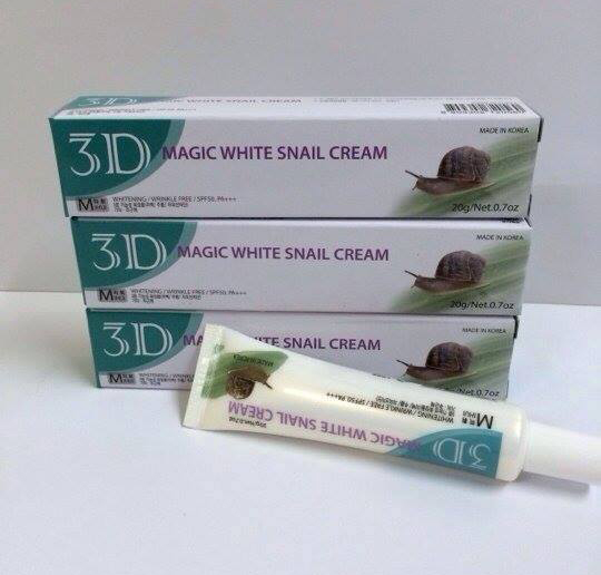 Kem 3D Magic White Snail Cream