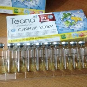 Serum collagen tuoi Teana cua Nga
