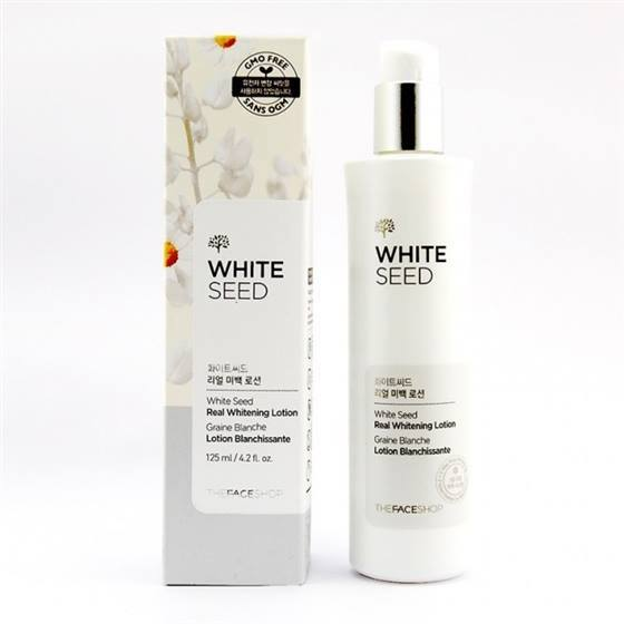 Sua duong White Seed Real Whitening Lotion The Face Shop