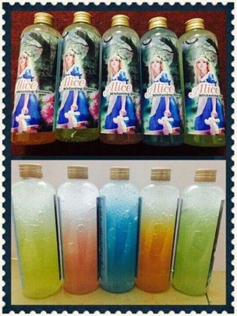 Sử dụng sữa tắm Alice Thái Lan