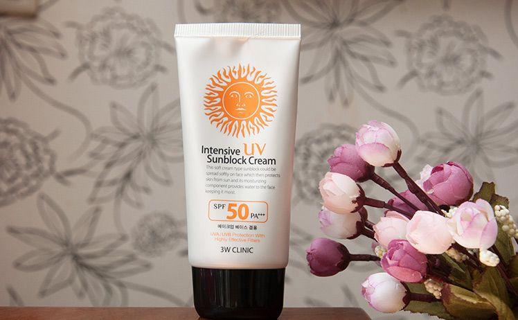 Kem chống nắng 3W Clinic SPF50 1