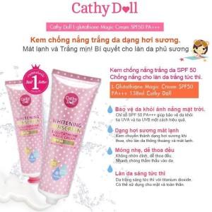 Kem chống nắng Cathy Doll Magic Cream 138ml mẫu mới 2015