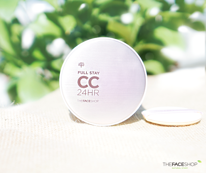 Kem nền CC Cream Full Stay 24HR The Face Shop 2