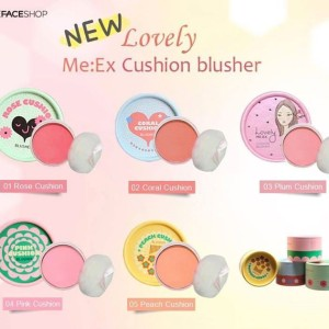 Phấn má hồng Lovely Meex Cushion Blusher