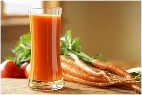 Cách làm trắng da bằng cà rốt 3