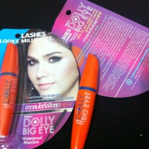 Mascara Mistine Dolly Big Eyes