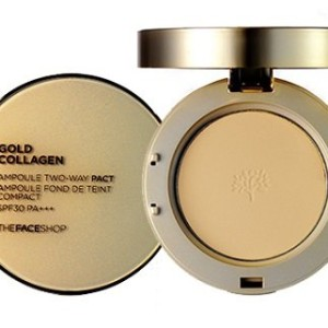 Phấn phủ Gold Collagen Ampoule Two-way Pact 1