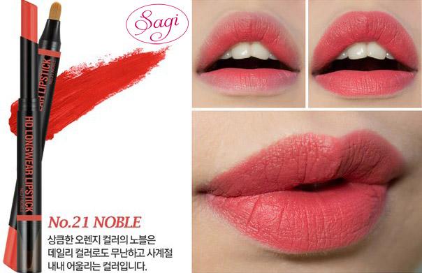 Cách sử dụng son thỏi HD Longwear Lipstick
