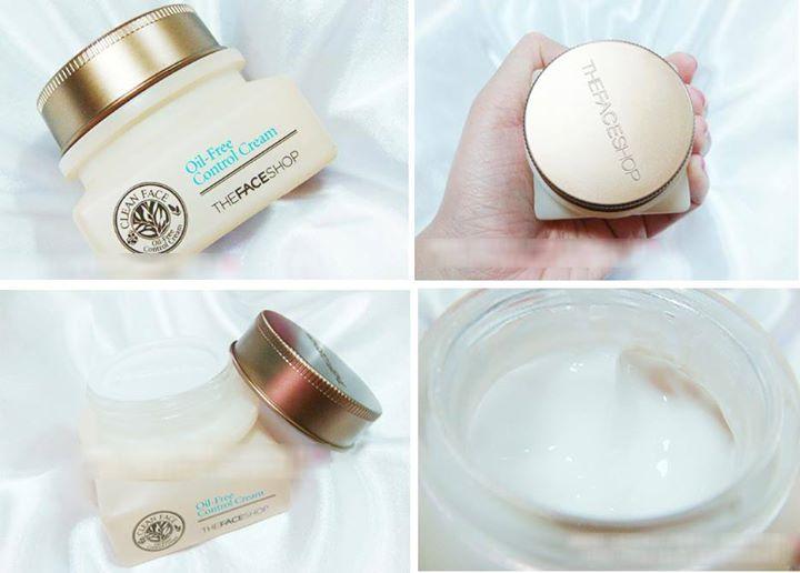 Kem dưỡng cho da dầu và mụn Clean Face Oil Free Control