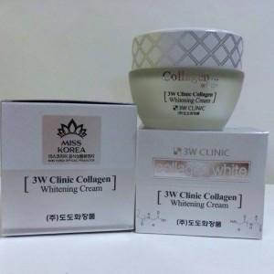 Kem dưỡng trắng da 3W Clinic Collagen White