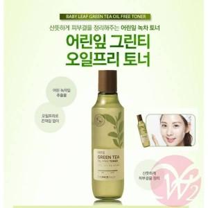 Nước hoa hồng trà xanh Green Tea Oil Free Toner
