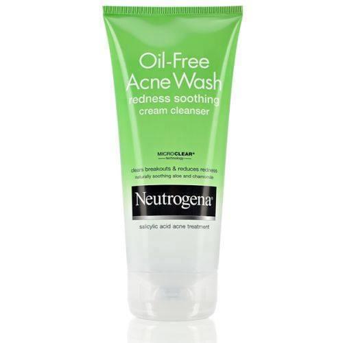 Sữa rửa mặt dạng kem Oil-Free Acne Wash