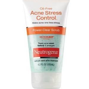 Sữa rửa mặt trị mụn Oil-Free Acne Stress Control Power