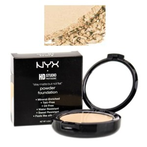 Phấn phủ NYX HD Stay Matte But Not Flat Powder Foundation