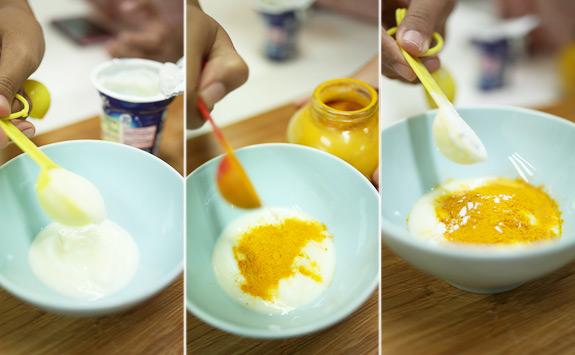 Cách làm kem dưỡng trắng da cho phụ nữ sau sinh từ bột nghệ