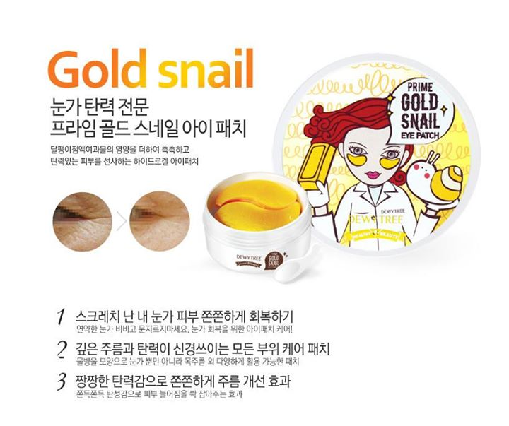 Mặt nạ Prime Gold Snail Eye Patch