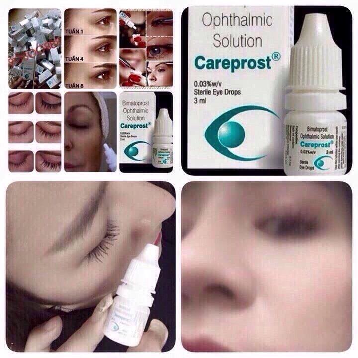 Cách sử dụng dưỡng mi Careprost
